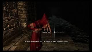 Skyrim Legendary Edition | The Vigilant Mod/ Three Heroes descent into de slums