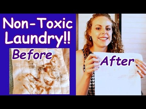 No More Toxic Laundry Detergent! The Natural Solution for Clean, Fresh Clothes!