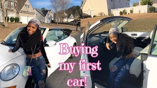 I BOUGHT A CAR!? My First Vlog!