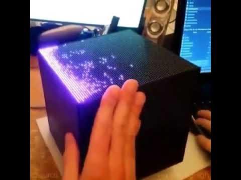 #Viral Increíble cubo de luces led  con sensor de Movimiento