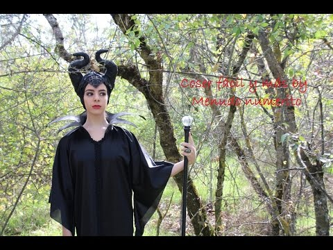 Cómo hacer el disfraz de Maléfica / Maleficent costume