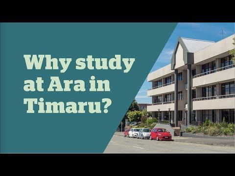 Why study at Ara in Timaru?