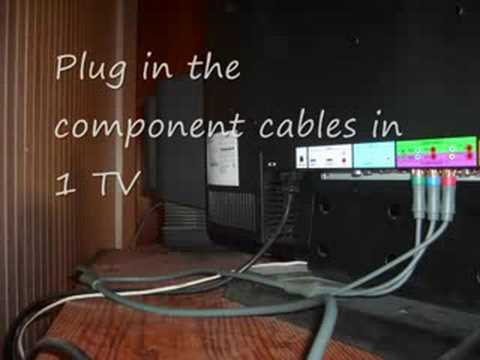 Create An Xbox Dual Display By Using Both Component And Composite Cables