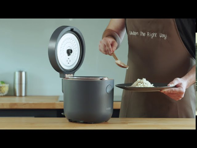 Video tutorial: How To Use Lauben Low Sugar Rice Cooker 1500WT