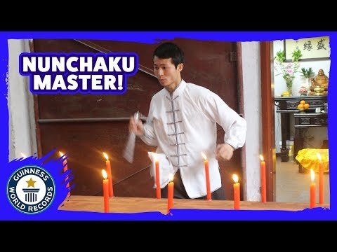 Killing Candles with Nunchucks