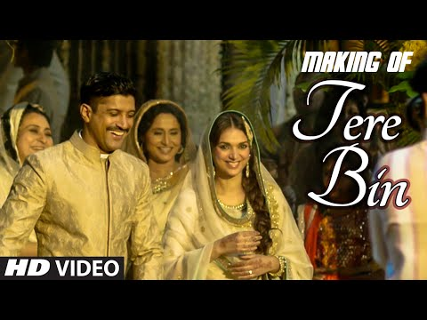 Making of 'TERE BIN' Video Song | WAZIR MOVIE 2016 | Farhan Akhtar, Aditi Rao Hydari | T-Series