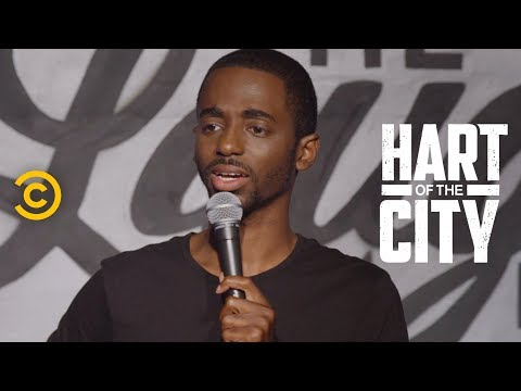 Hilarious stand-up routine from an up-and-coming comic