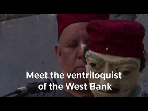 Palestinian ventriloquist talks heritage and history