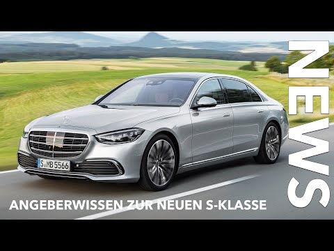 10 Fakten zur neuen Mercedes-Benz S-Klasse (W 223) Leistung Motoren Highlights Voice over Cars News