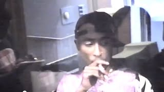 Tupac Shakur Rare Unreleased Making Of Representin 93' Studio Footage