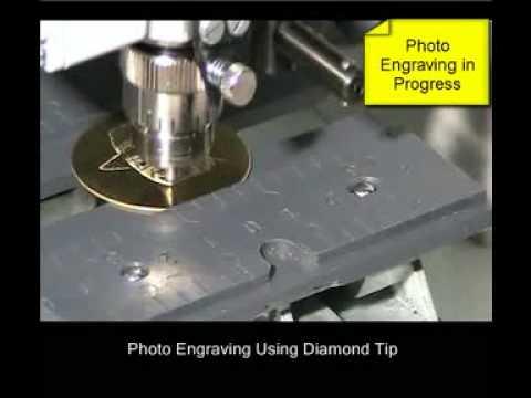 Gravograph M20Pix Photo Engraving (caption)