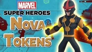 Disney Infinity 2.0 All Nova Crossover Tokens in Avengers Playset