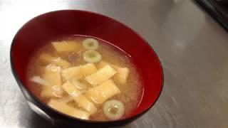 宝塚受験生の美腸レシピ〜こんにゃくと油揚げのなっとう汁〜のサムネイル画像