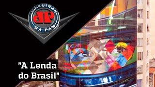 Ayrton Senna vive na arte de Eduardo Kobra; confira entrevista | Máquinas na Pan