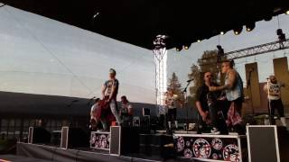 WALDA GANG - Opičáci -  Rockové Hranice - Stará Střelnice - 27.5. 2017