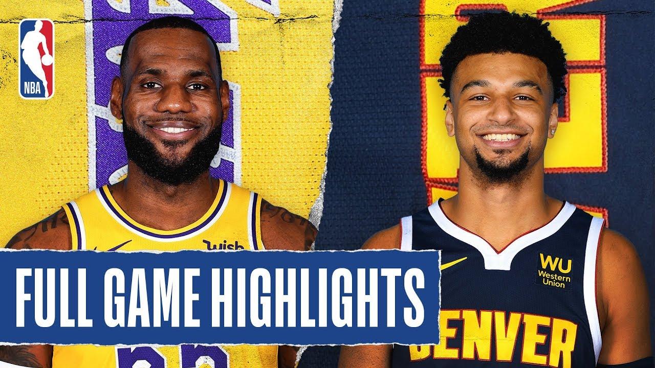 Los Angeles Lakers vs Denver Nuggets [Wed, Feb 12, 2020]