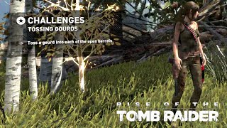 Rise of the Tomb Raider · Hung Out to Dry Challenge Walkthrough