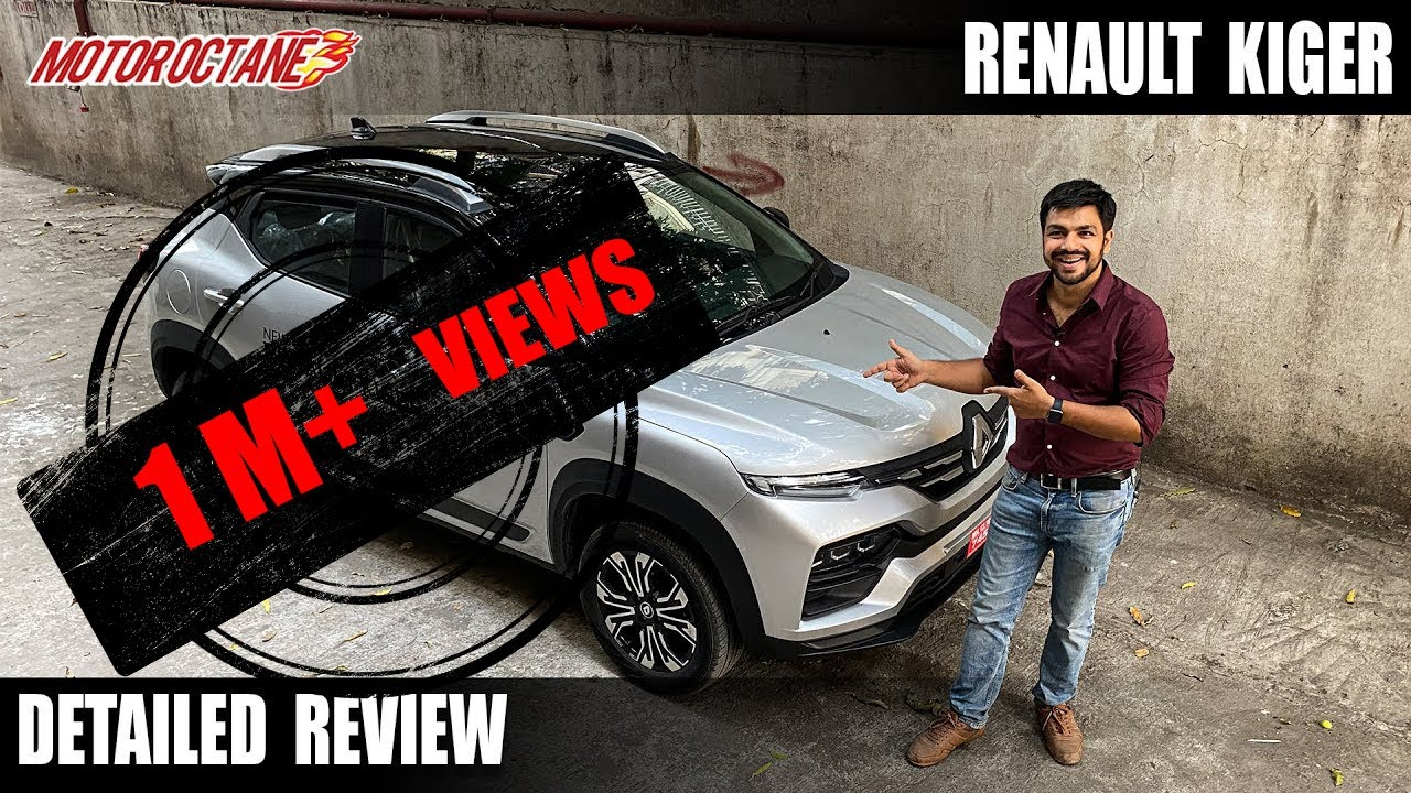 Motoroctane Youtube Video - Renault Kiger - Detailed Review