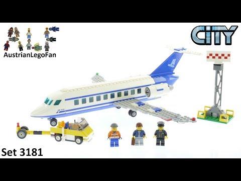 Vidéo LEGO City 3181 : L'avion