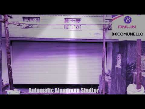 Bluetooth Automatic Aluminum Rolling Shutter