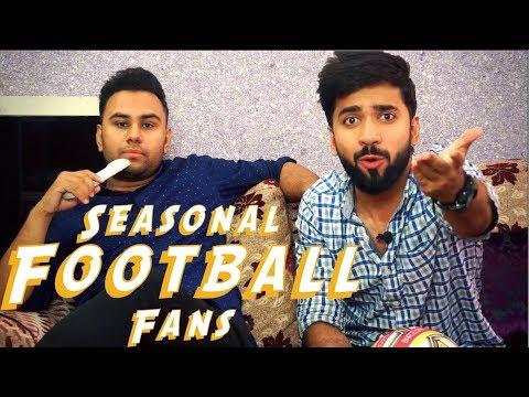 Seasonal fans of football | Funny | Enigma Films