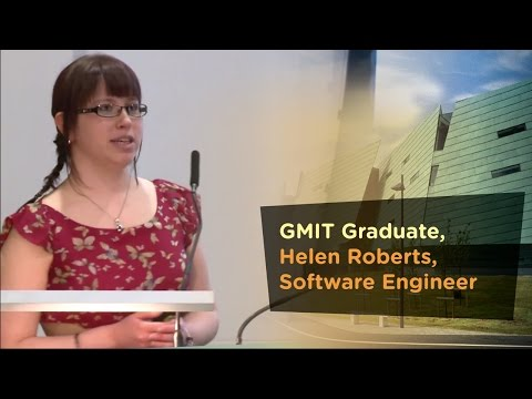 GMIT Graduate, Helen Roberts, Software Engineer - Galway-Mayo Institute of Technology - GMIT