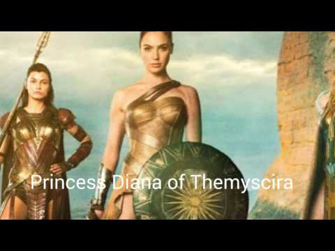 Wonder woman movie 2017 sneak preview  Princess Diana of Themyscira in theatres on 2017
