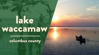 Where is lake waccamaw north carolina