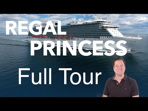 Regal Princess Review- Full Walkthrough – Cruise Ship Tour – Princess Cruises