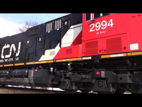 CN 3095 Meets WSOR 3891 in Slinger, WI 1/18/18