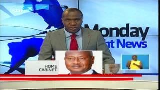 Uganda President Yoweri Museveni appoints his 81 member cabinet including wife Janet
