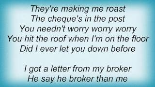 10cc - Overdraft In Overdrive Lyrics