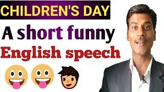 english speech for children