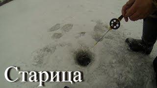 Зимния рыбалка на москве реке