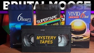 Mysterious Unlabeled VHS Tapes   Treasure Hunt!