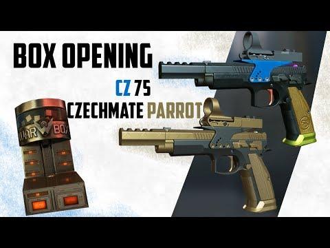 CZ 75 Parrot Crown Box Opening Warface - смотреть онлайн на Hah Life