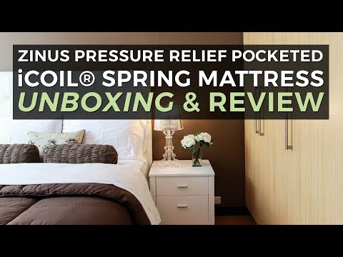 Zinus Mattress: iCoil Unboxing and Overview