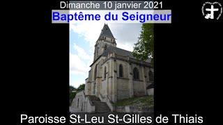 2021-01-10 – Messe du Baptême du Seigneur