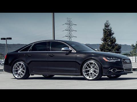 Audi S6 on Avant Garde M510 Wheels by California Wheels