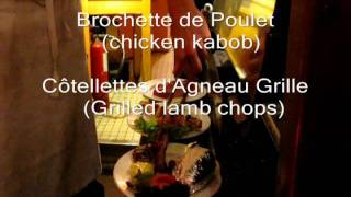 preview picture of video 'Dinner at Chez Lazare.wmv'