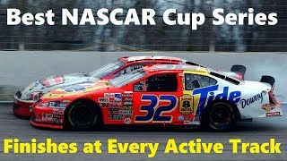Best NASCAR Cup Series Finishes At Every Active Track