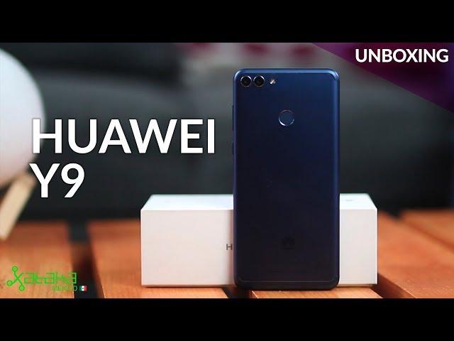 Huawei Y9 (2018), UNBOXING en México: cuatro cámaras para la gama media