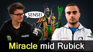 Miracle mid Rubick — Liquid vs Vega Dota 2