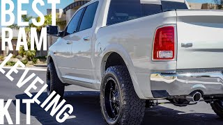 The BEST Ram 1500 Leveling Kit   Installed at CJC Off Road   Jay Flat Out