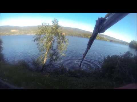 GMT 035 felling grapple - Cutting underwater