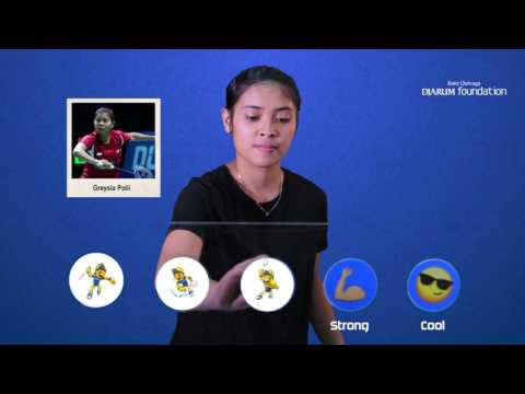 Gregoria Mariska - Emoji Players At BCA Indonesia Open 2017