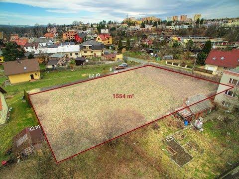 Prodej stavebního pozemku 1554 m2 Ostrava Svinov