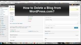 How to Delete a WordPress.com site Permanently