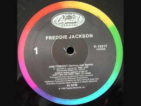 "Freddie Jackson - Jam Tonight (12"" Remix)"