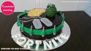 fortnite battle royale mobile save the world ninja cake design ideas decorating tutorial forte nite